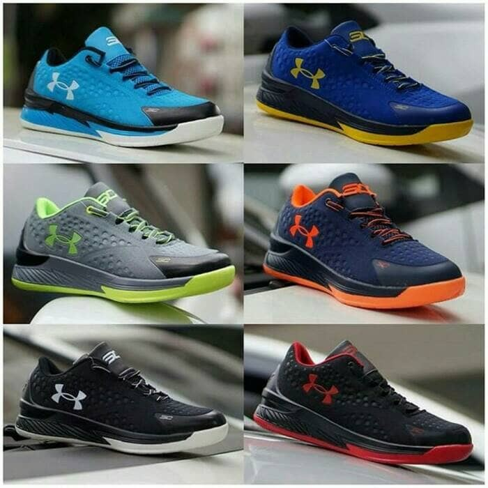 Sepatu Basket Under Armour Curry Low Cowok Cowo Men Man Underarmour SC d6b6ed2e46