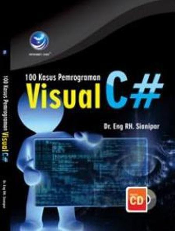 harga 100 kasus pemrograman visual c# +cd Tokopedia.com