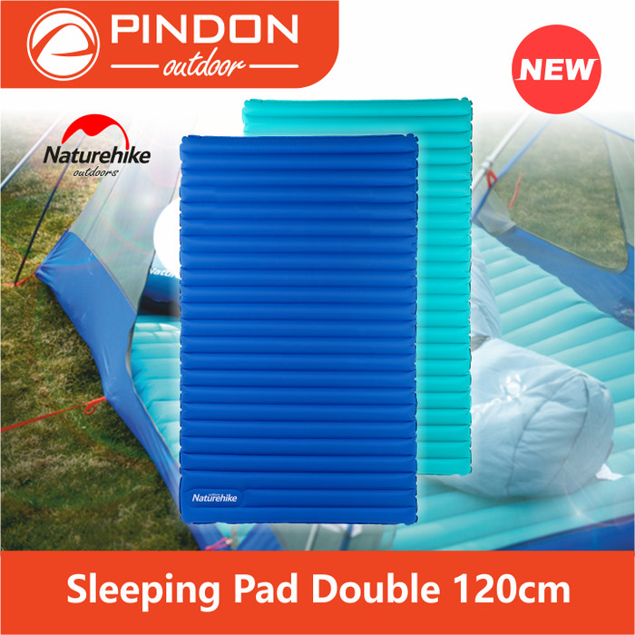 harga Sleeping pad double 120cm - matras angin naturehike nh17t120-u Tokopedia.com