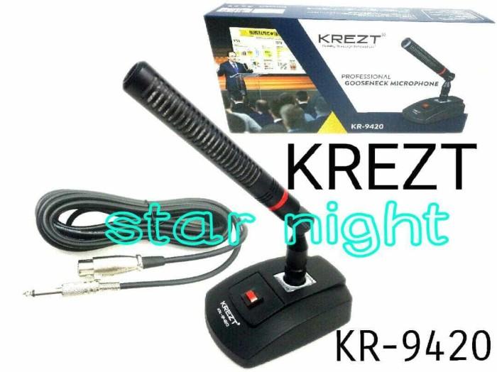 harga Mic kabel krezt kr 9420 conference professional gooseneck microphone Tokopedia.com