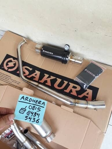 harga Knalpot sakura carbon new r15 ar13 original yamaha Tokopedia.com