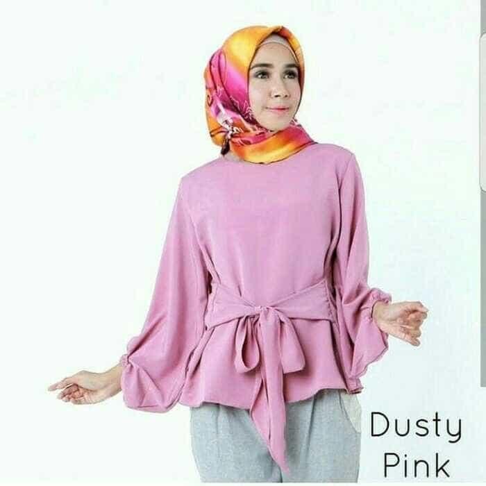 Baju Original Aisya Top Baju Blus Atasan Wanita Baju Kerja Blouse Kemeja  Perempuan . Source · 1b905f9b63