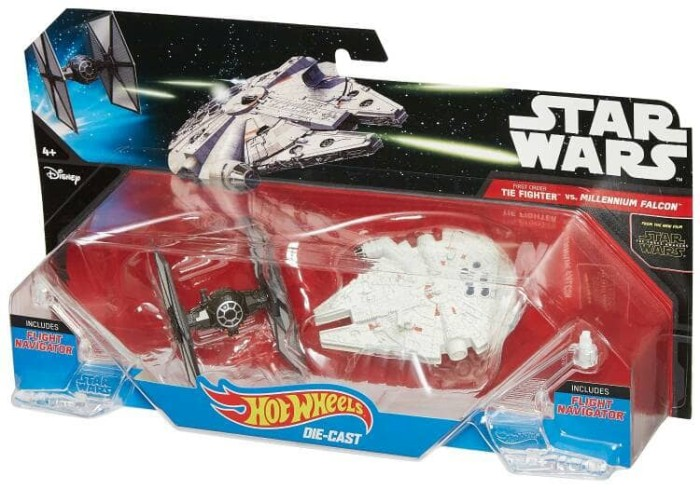 harga Hot wheels millenium falcon vs tie fighter star wars ori misb Tokopedia.com