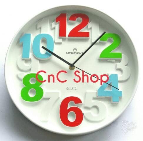 Jual Jam Dinding Meridient Angka Timbul - C  n C Shop  3fb11c36f8