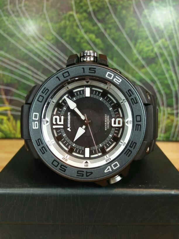 harga Jam eiger - 91000 3360001 annapurna watch.blk - jam tangan Tokopedia.com