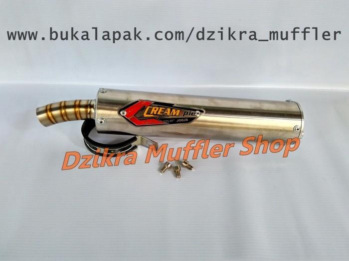 harga Silencer knalpot creampie stainless steel for ninja 150 r / rr / ss Tokopedia.com