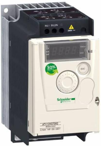 harga Vsd inverter motor 1phase 220vac 1hp 0,75kw atv12h075m2 schneider Tokopedia.com