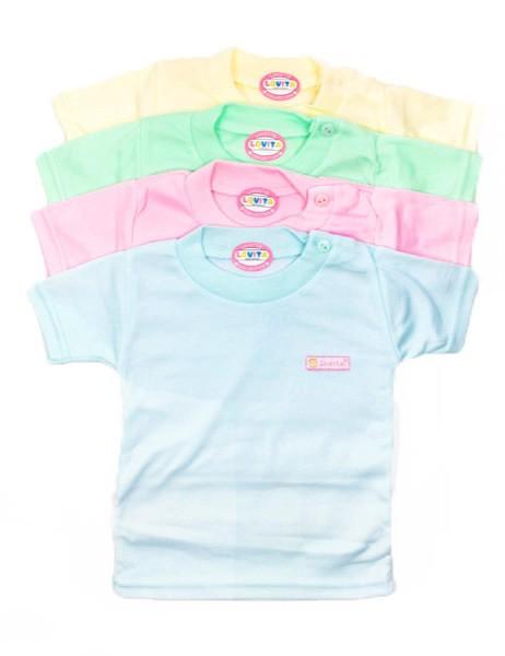 baju luvita oblong newborn -4pcs