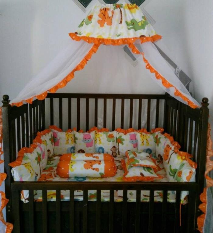 harga Bumper box bayi set selambu ( mins bed cover )/kelambu box bayi Tokopedia.com