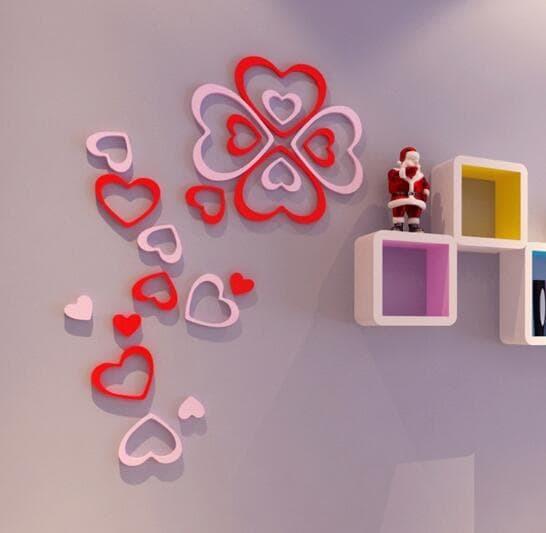 jual dekor kamar ala jepang |dekorasi kamar tidur 3d wall sticker