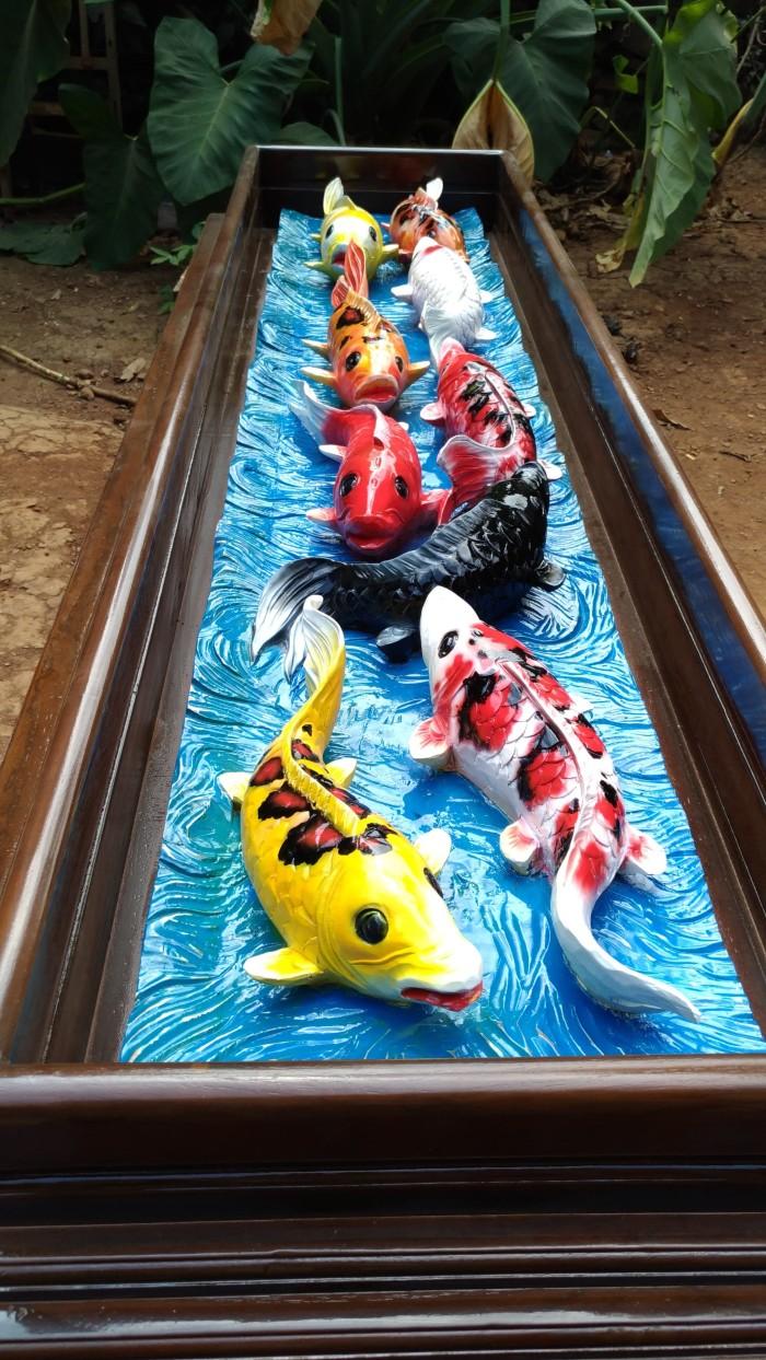 Jual Ukiran Relief Ikan Koi 3dimensi Kab Jepara Furniture Mebeljepara