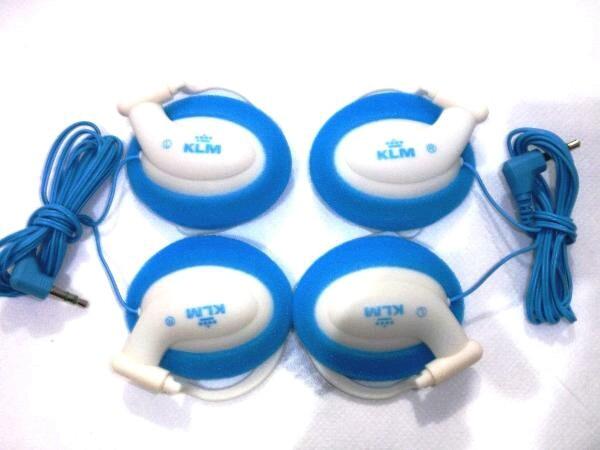 harga Headset klm airlines maskapi belanda Tokopedia.com
