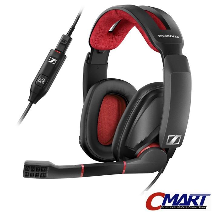 harga Sennheiser gsp 350 pc gaming headset surround sound headphone gsp350 Tokopedia.com