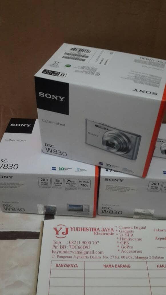 harga Sony cyber-shot dsc-w830 resmi pt.sony indonesia Tokopedia.com