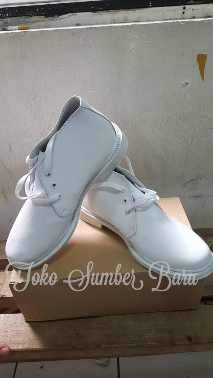 harga Sepatu pdh putih tali Tokopedia.com
