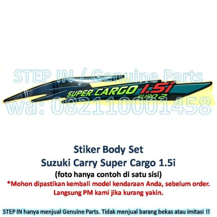 harga Stiker body set suzuki carry pick up sticker bak samping super cargo Tokopedia.com