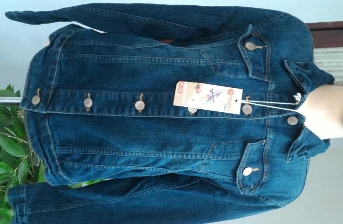 harga Jaket jeans / denim wanita triset original Tokopedia.com