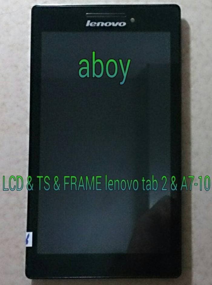 harga Lcd & ts & frame lenovo tab 2 & a7-10 Tokopedia.com