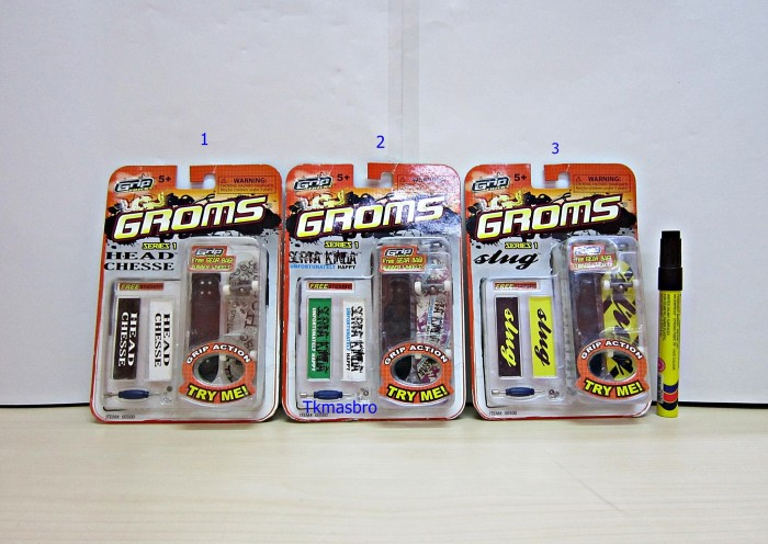 harga Fingerboard groms series 1 Tokopedia.com