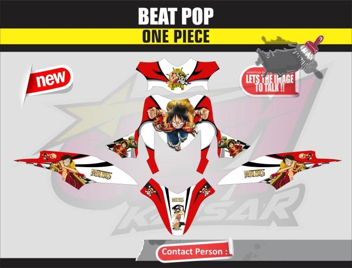harga Sticker motor aksesoris body motor beat pop one piece Tokopedia.com