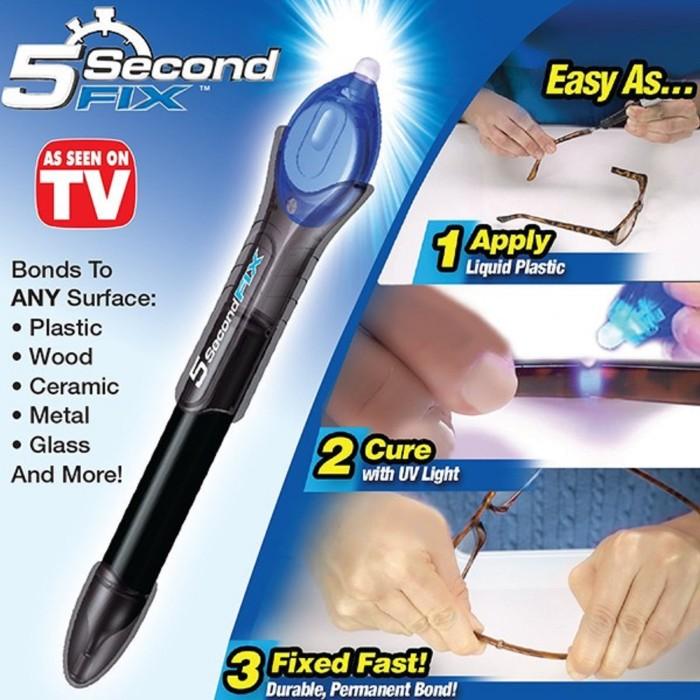 harga Lem ajaib 5 detik / magic glue fix 5 second sinar uv Tokopedia.com