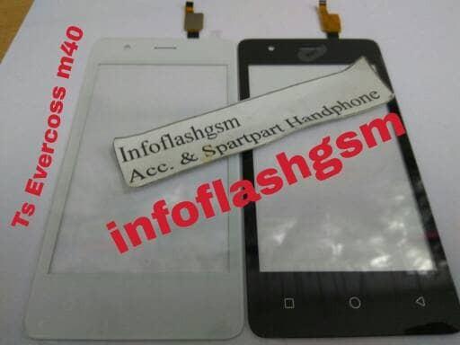 Touchscreen Evercoss Cross M40