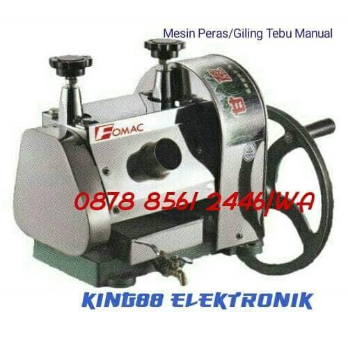 harga Fomac mesin pemeras tebu scp-160 manual/ manual sugar cane Tokopedia.com