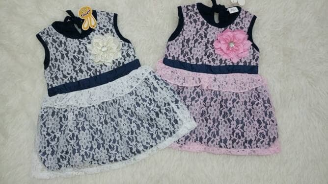 harga Baju bayi perempuan / baju pesta / dress pesta / brokat Tokopedia.com