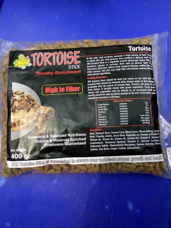 harga Jkk tortoise stick dengan timothy enrichment pakan kura-kura darat Tokopedia.com