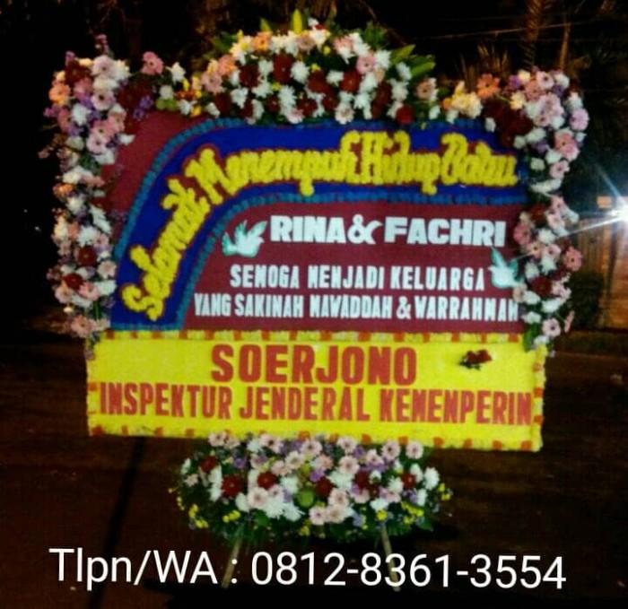 Jual Karangan Bunga Ucapan Pernikahan Bunga Jakarta Jakarta Selatan Bani Florist Tokopedia