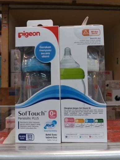 harga Botol kaca pigeon 1x 160ml wideneck Tokopedia.com