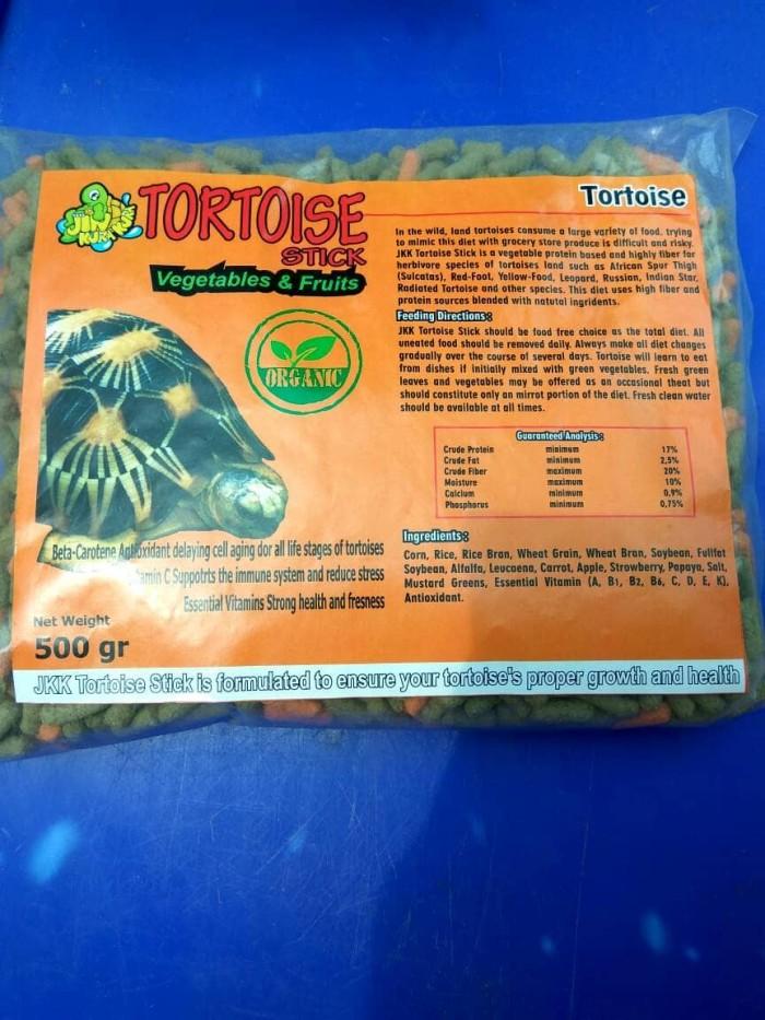 harga Jkk Tortoise Stick Vegetables & Fruit Pakan Kura-kura Darat Tokopedia.com