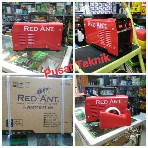 MESIN LAS RED ANT 160A / MESIN LAS INVERTER RED ANT 160 A