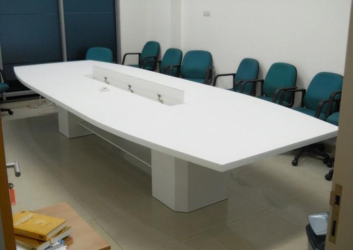 Jual Meja Rapat Bahan Multiplek HPL + Furniture Semarang