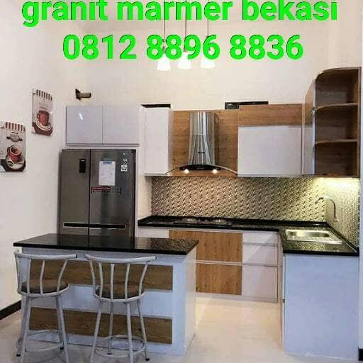 Meja Dapur Granit Marmer