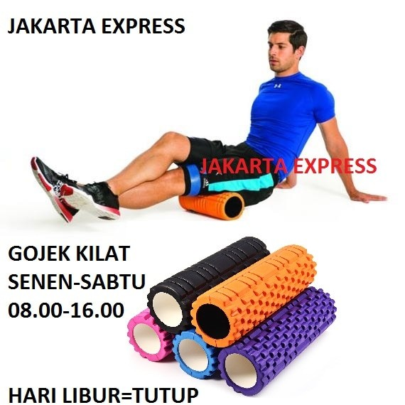 harga Foam roller /fitness / gym / senam / aerobic / yoga roller orange Tokopedia.com