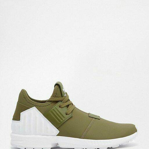 c0c135d62 Jual Adidas ZX Flux Plus Olive Green - whossneaker