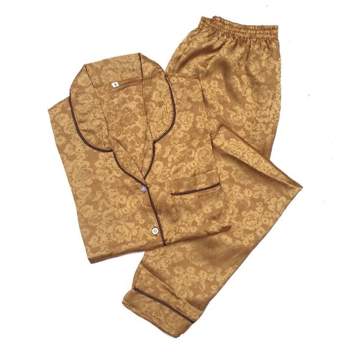 harga Piyama mewah granola emas rosy satin baju tidur pajamas wanita psr9 Tokopedia.com
