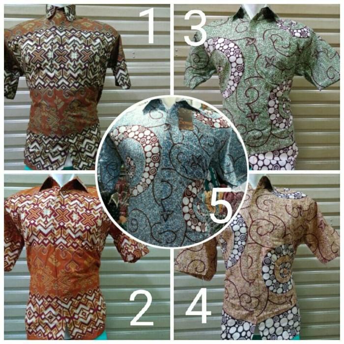 Jual Baju Batik Pria Kerja Katun Seragam Ika Fashion Tanah Abang ... e610804c0b
