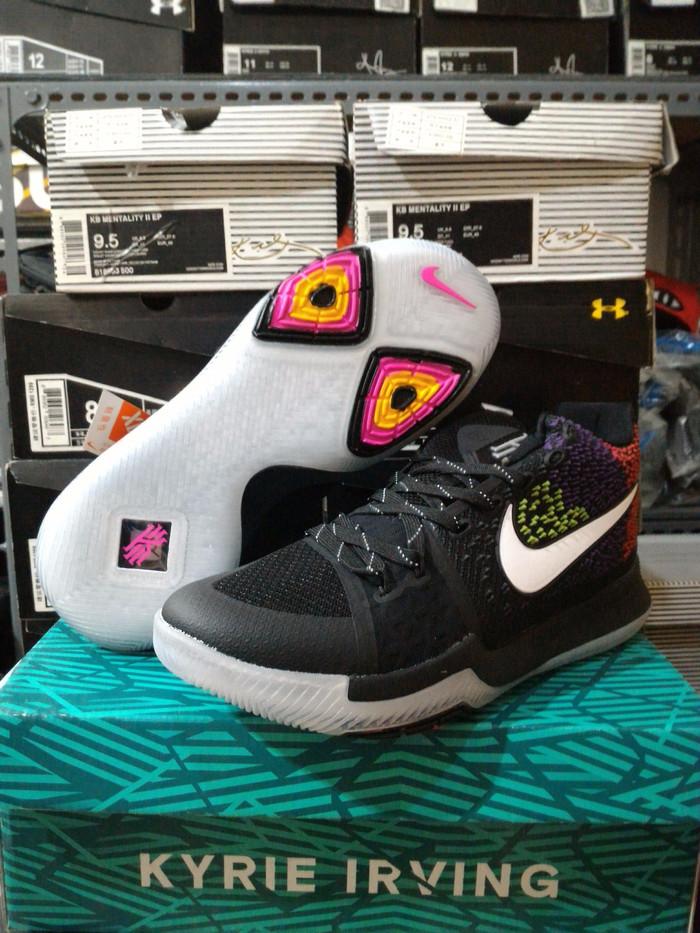 6067925b964f Promo  FREE SHOES BAG  Sepatu Basket Nike Kyrie 3 Fireworks Exclusive