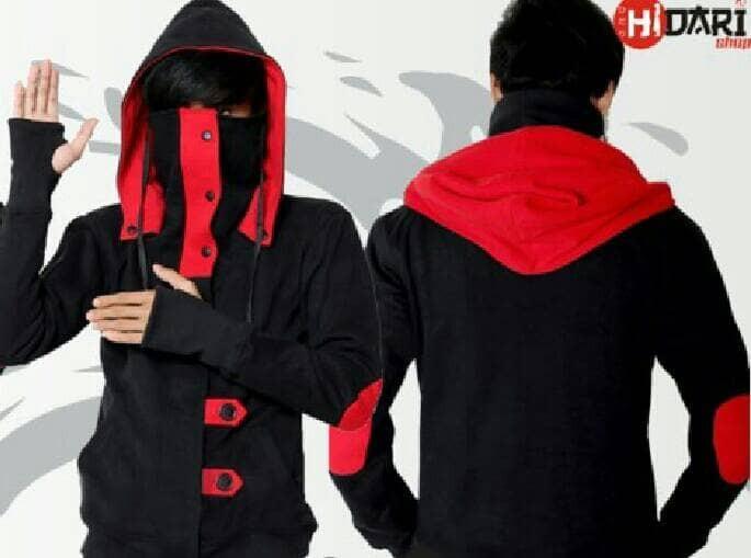 Jual Jaket Ninja Korea NRB Jaket Fleece Jaket Pria Korea Jaket Keren ... 5c6f2e1fae