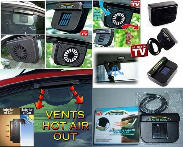 harga Auto cool fan kipas ventilation mobil dingin terjemur panas acf Tokopedia.com
