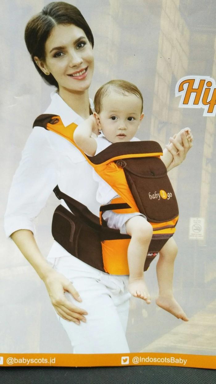 harga Baby 2 go hipseat + gendongan depan 3in1 b2g5101 Tokopedia.com