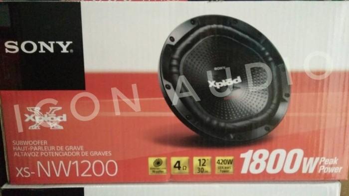 harga Subwoofer 12 inch sony xplod nw1200 termurah!!! Tokopedia.com