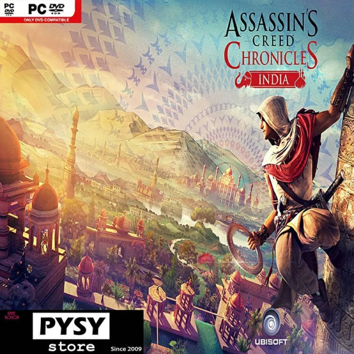 Jual Assassins Creed Chronicles India Pc Game Kab Bogor
