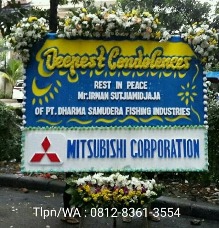 Jual Karangan Bunga Jakarta Bunga Ucapan Duka Cita Fresh Jakarta Selatan Bani Florist Tokopedia
