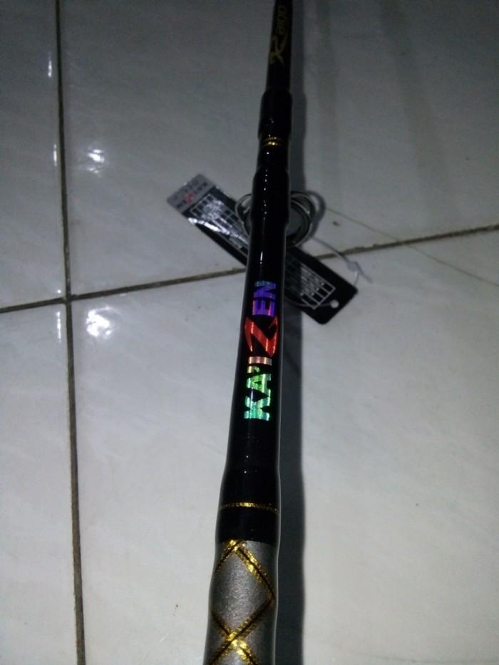harga Joran sambung jigging kaizen raigo 150mh 150 cm line 20-40 lb Tokopedia.com