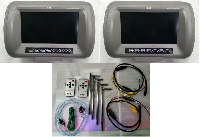 harga Monitor Headrest Tanaka Mh-8002m 8 Inch Tokopedia.com