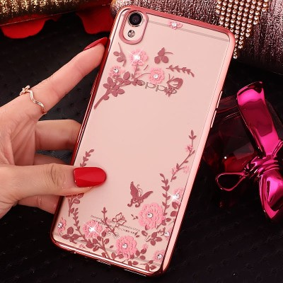 Oppo Neo 7 A33 Neo 9 A37 soft case casing cover thin TPU FLOWER bumper