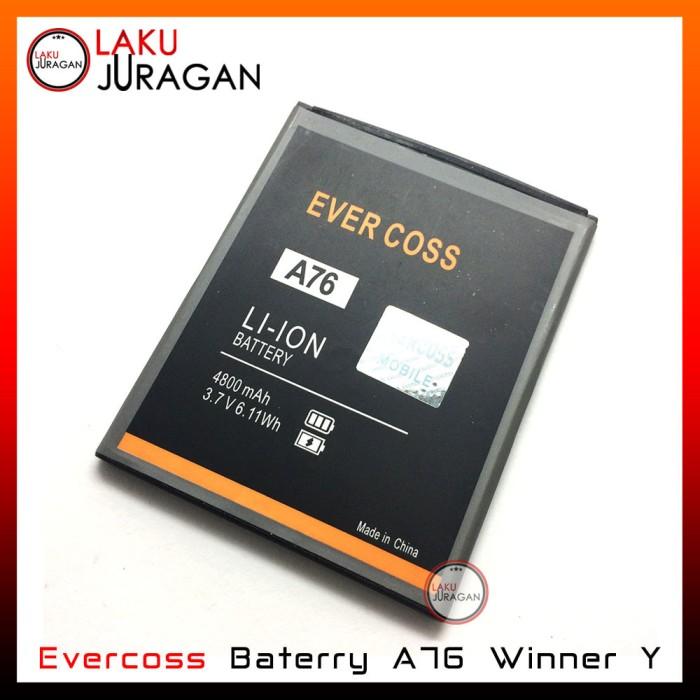 harga Baterai handphone evercoss a76 winner y double power original batre Tokopedia.com